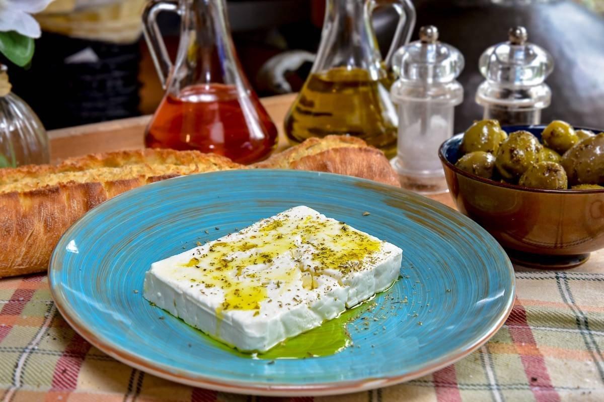 assiette restaurant grec la folie grecque